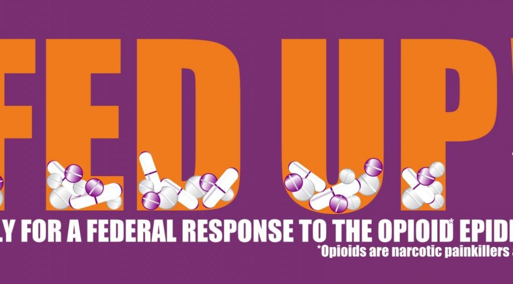 fed up rally responding opioid addiction Inspire Recovery News
