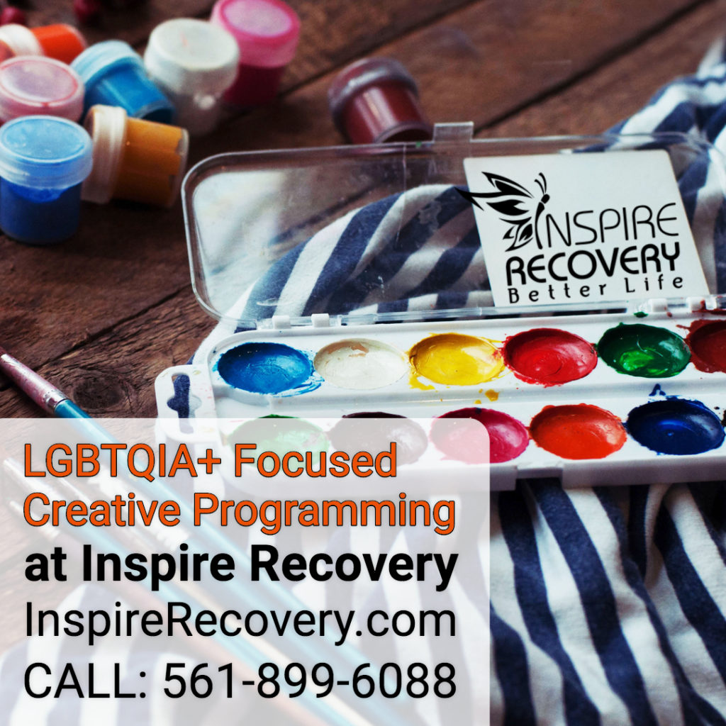 Group therapy at Inspire Recovery addiction rehab are created specifically for LGBT people wanting to recover from drug and alcohol addiction.