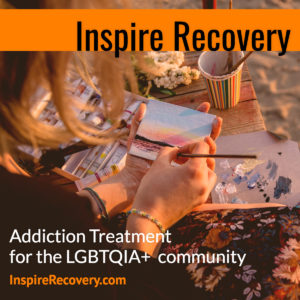 Inspire Recovery group activities for LGBTQ individuals.