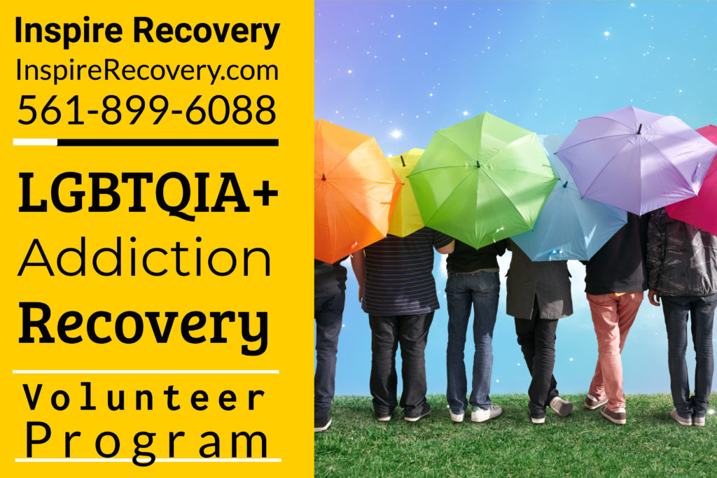At Inspire Recovery, LGBTQ addiction treatment center, we believe volunteering strengthens your recovery.