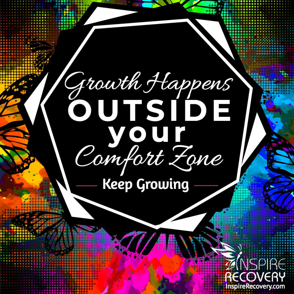 Inspire Recovery LGBT Addiction Treatment Growth Happens Outside Your Comfort Zone
