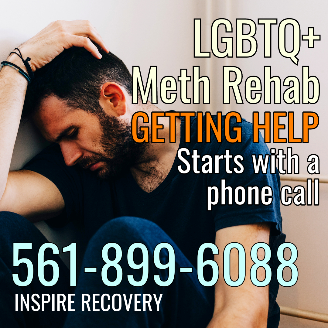 Getting help with meth addiction starts with a phone call to LGBTQ+ rehab, Inspire Recovery.
