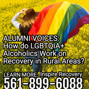 How do LGBTQ folks work on recovery in rural areas.
