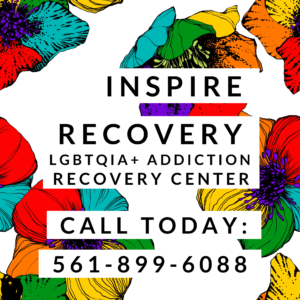 Inspire Recovery LGBTQ addiction recovery center, call us for support
