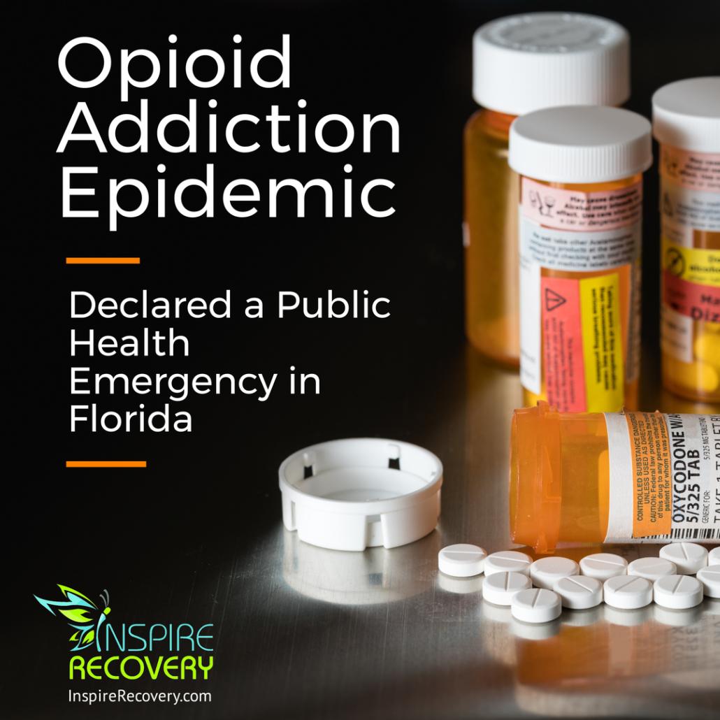 Florida Governor Declares Opioid Addiction Health Emergency